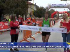 Roberto Graziotto vince la Maratonella con record