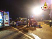 Scontro tra due auto a Campodarsego: un ferito