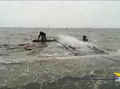 Canottieri di San Giuliano in ginocchio a causa del maltempo