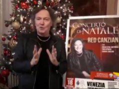 Concerto di Natale di Red Canzian al Teatro Malibran
