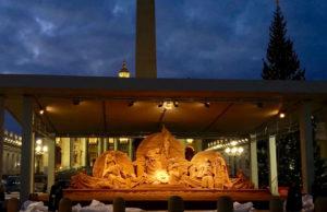 Sand Nativity, da oggi splende in Piazza San Pietro