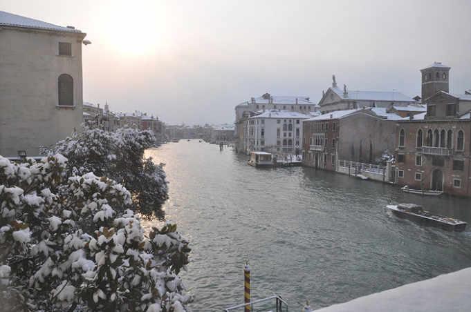 Maltempo, è preallarme neve a Venezia - Televenezia