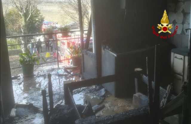 Portogruaro esplosione in casa, ferito un anziano