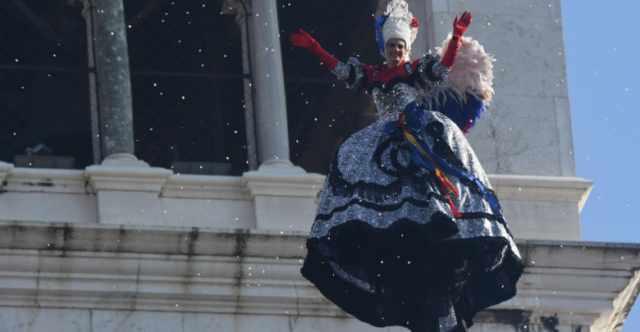 Volo dell'Angelo del Carnevale di Venezia 2019