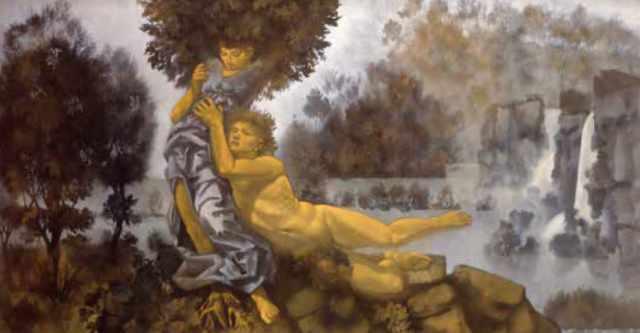 Palazzo Zaguri, Apollo e Dafne: l'arazzo lascia il posto al dipinto
