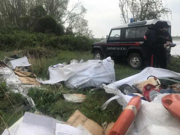 Abbandono di rifiuti a Chioggia denunciato titolare di un'officina