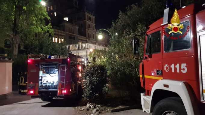 incendio bancone frigo gelati hotel excelsior venezia lido