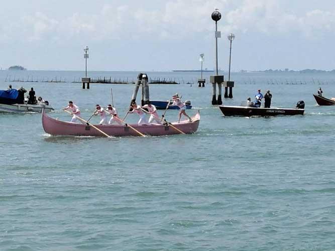 Regata interistituti di voga alla veneta 2019 vince l'ITS Marinelli Fonte 2