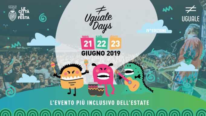 Uguale Days, via al countdown: programma 2019