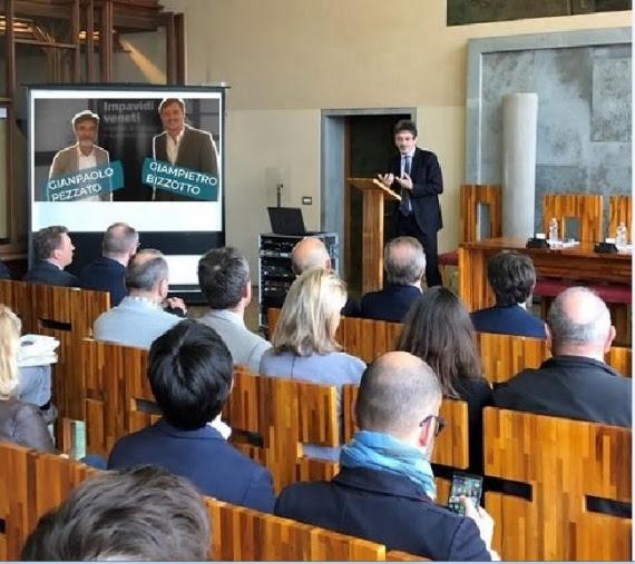 Presentato in anteprima il docufilm sugli imprenditori venetiPresentato in anteprima il docufilm sugli imprenditori veneti
